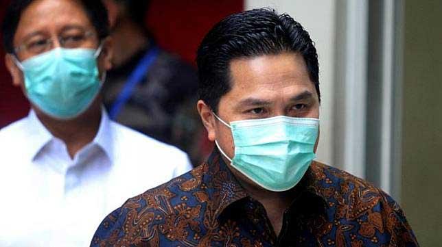 Eric Thohir : Penggunaan Masker Harus Jadi Trend
