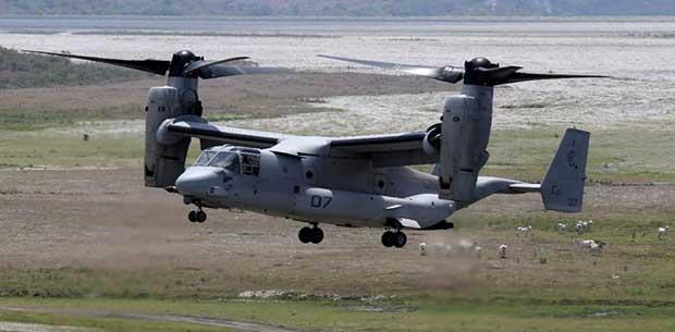 Pesawat Canggih Osprey Yang Dibeli RI dari AS