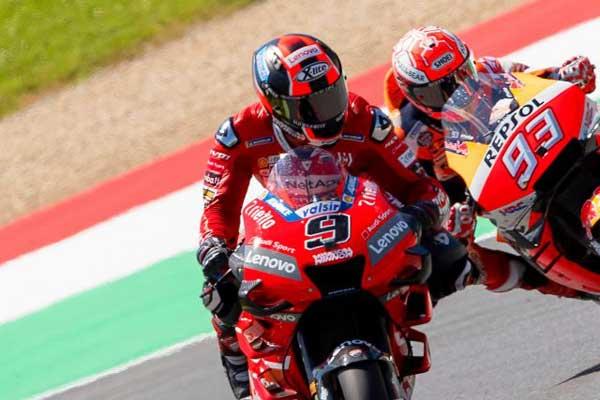 Tes MotoGP Jerez Spanyol, Alex dan Petrucci Alami Kecelakaan