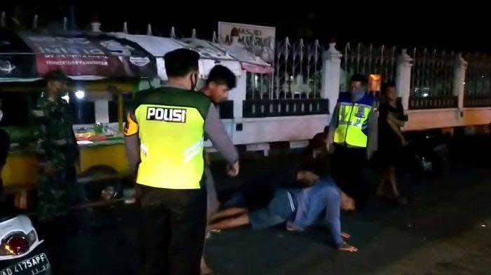 Tidak Pakai Masker, 15 Orang di Hukum Push Up di Boyolali