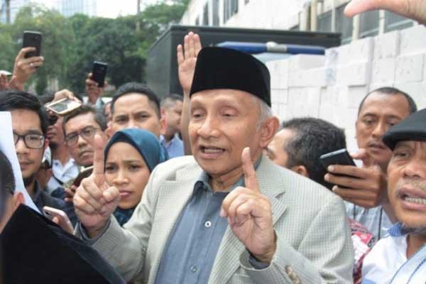 Tolak Gabung Jokowi, Diklaim Amien Rais Jadi Alasan PAN Memecat Dirinya