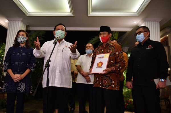 Usung Ponakannya Di Pilwalkot Tangsel, Prabowo: Ini Demokrasi