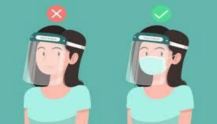 Masker dan Face Shield
