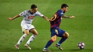 Aksi Menawan Messi, Jatuh Bangun Cetak Gol