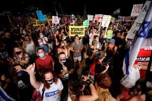 Aksi Protes Tuntut PM Benjamin Netanyahu Mundur Terjadi di Israel
