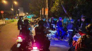 Polisi Bubarkan Konvoi PSHT : Supaya Tidak Membuat Ramai