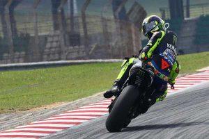 Trending di Twitter, Valentino Rossi Finis Kelima dan Selamat dari Maut