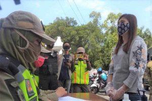 283 Pelanggar Disanksi Dalam Sepekan Operasi Masker