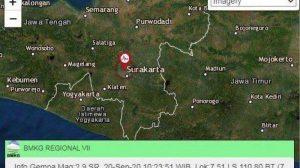 Gempa di Solo, Warga Tidak Merasakan Getaran Apapun