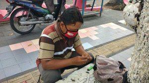 Pria Klaten Yang Tetap Semangat Meski Berpenghasilan Rp 1000