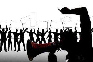 Demo UU Cipta Kerja di Karanganyar, 2 Orang Bawa Sajam Dan Puluhan Anak Bawah Umur Ditangkap