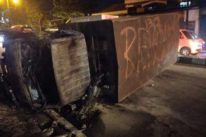 Dua Pelajar Jadi Tersangka Kasus Pembakaran Truk Satpol PP Sukoharjo