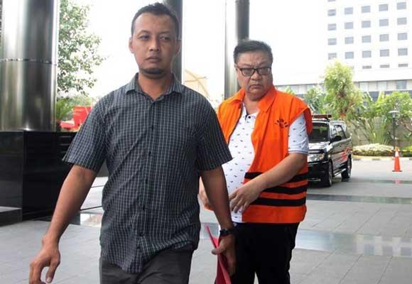 KPK Eksekusi Hadi Setiawan Ke Lapas Klas 1 Surabaya