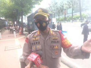 Kapolres Metro Jakarta Pusat : Tidak Ada Demo di Komplek Kedubes Perancis