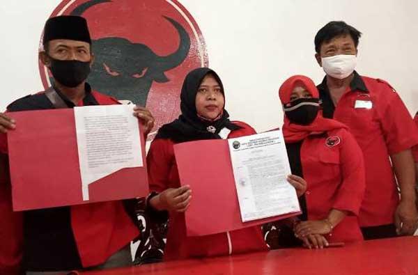 PDIP Pecat Cawabup Klaten Harjanta yang Maju Pilkada 2020 Lewat Partai Lain