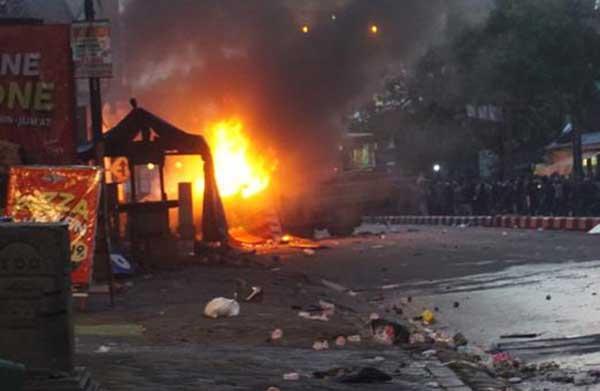 Pelaku Pembakaran Truk Satpol PP Sukoharjo Ditangkap