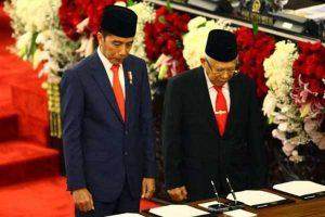 Perjalanan Satu Tahun Pemerintahan Jokowi-Ma'ruf Amin