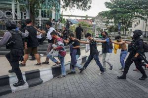 Polresta Tangkap Ratusan Pemuda dan Surati Puluhan Sekolah di Soloraya Imbas Aksi Demo Balai Kota
