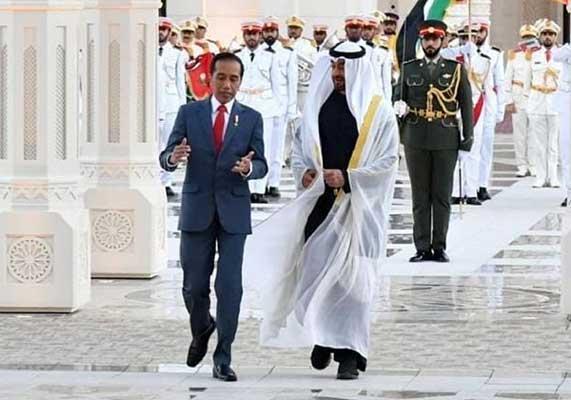 Setelah Resmikan Nama Jalan Jokowi, Uni Emirat Arab Juga akan Bangun Masjid di Solo