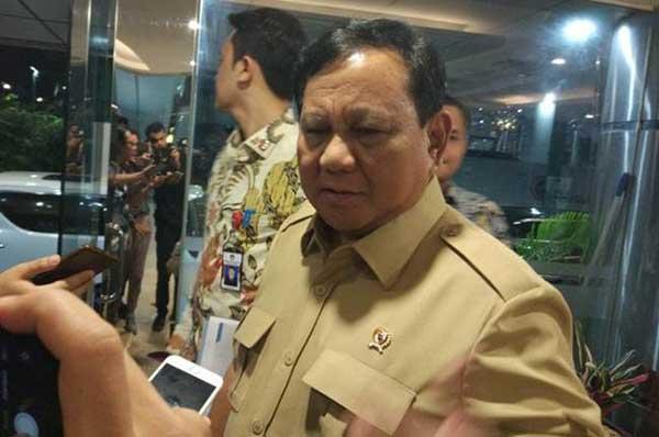 Soal Kerusuhan Demo Omnibus Law, Prabowo Yakin Ada Dalang