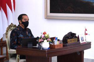 Jokowi Minta Demo Penolakan UU Cipta Kerja Tak Jadi Klaster Baru Covid-19