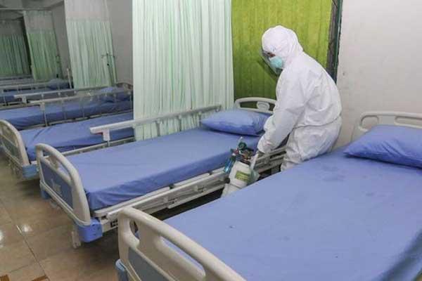 Bangsal Isolasi Pasien Covid-19 di Rumah Sakit Kota Solo Dikabarkan Penuh