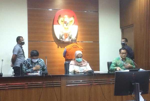 Eks Anggota DPR RI Irgan Chairul Mahfiz Ditahan KPK