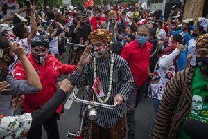 FPI Protes Pendaftaran Gibran Bawa Massa, Kapolresta Solo: Sudah Sesuai Protokol Kesehatan