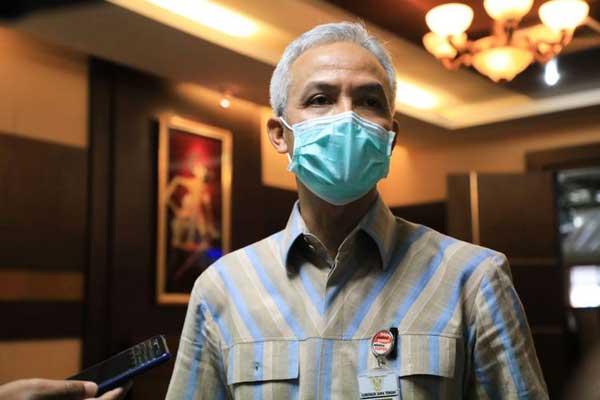 Gubernur Jawa Tengah Pantau Lokasi Pengungsian Merapi