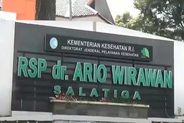 Pasien Covid-19 di Rumah Sakit Paru Ario Wirawan Kota Salatiga Kabur