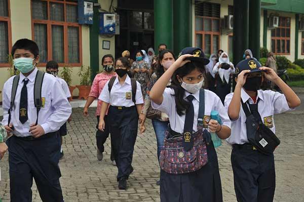 Per 3 November 2020 ini, Siswa SMP di Solo Kembali ke Sekolah