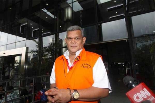 Perantara Suap Hakim PN Jaksel Dijebloskan di Lapas Cipinang