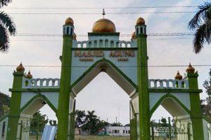 Proses Pembangunan Masjid Agung Karanganyar Dimulai