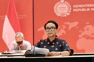 Menlu Retno Marsudi Bantah Isu Pulau Natuna Jadi Pangkalan Militer Asing