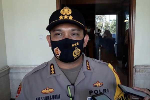 Polresta Solo Bakal Sekat Pintu Masuk Kota Nanti Malam