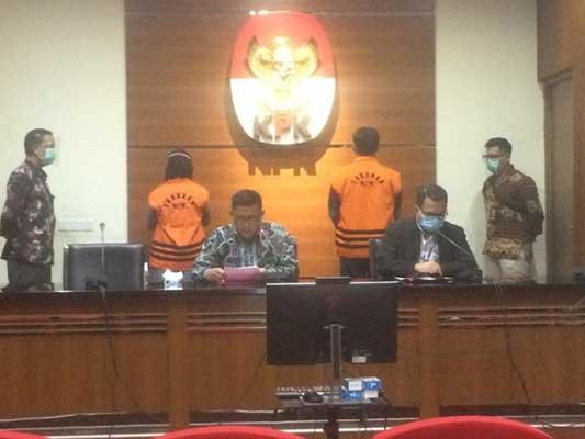 Kasus Korupsi Bakamla, KPK Tahan Dua Tersangka