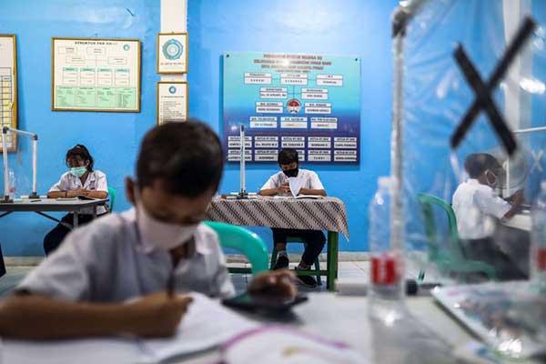 PTM Sekolah di Sragen Kembali Ditunda