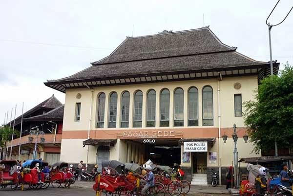 Pasar Gede Sisi Timur Ditutup Sepekan Imbas 11 Pedagang Positif Covid-19