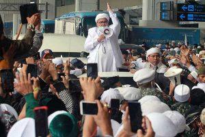 Habib Rizieq Resmi Jadi Tersangka Kerumunan Petamburan