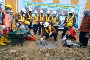 Bagaimana Progres Pembangunan Masjid Agung Karanganyar?