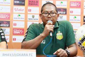 Bhayangkara Solo FC Siap Desak PT LIB Soal Lanjutan Liga 1