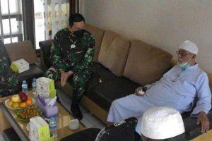 Danrem Warastratama Solo Kunjungi Abu Bakar Ba'asyir