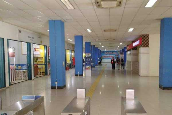 Libur Nataru, Terminal Tirtonadi Solo Sepi