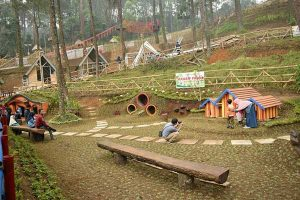 Pengunjung Objek Wisata Tawangmangu Menurun