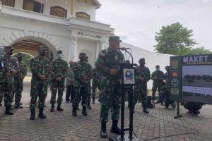 TNI Mulai Bangun Rumah Sakit Lapangan Darurat Covid-19 di Solo
