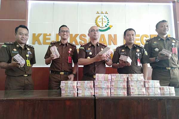 Uang Korupsi Rp 2 M Proyek RSUD Sragen Dikembalikan ke Kas Daerah