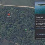 """Viral Tanda """"SOS"""" di Pulau Laki, Ini Penjelasan Google"""