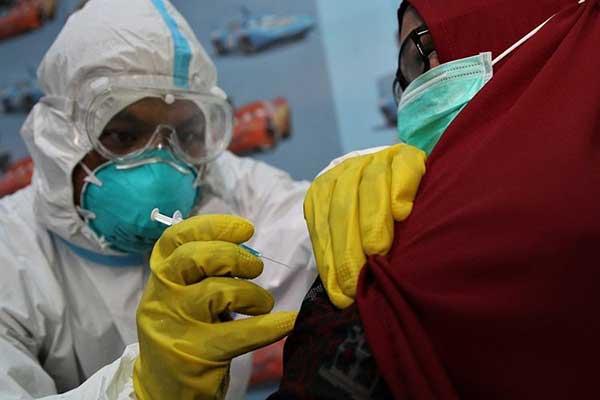 Ribuan Pedagang Pasar di Solo Akan Disuntik Vaksin