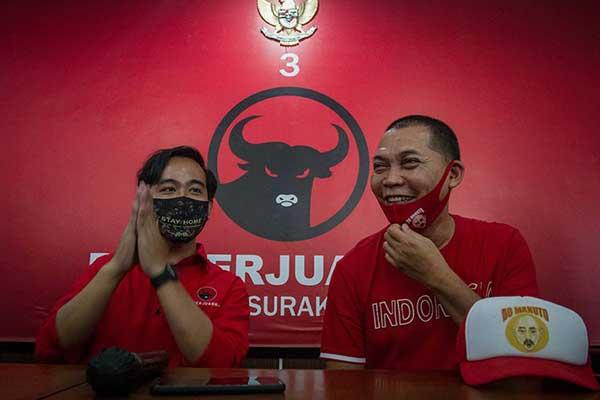 Bambang Kusriyanto selaku Sekretaris DPD PDI-P Jawa Tengah
