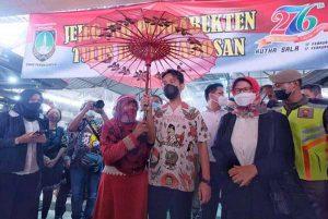 Gibran Tanggapi Soal Seruan Jokowi Benci Produk Asing